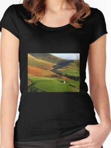 English Hills and Dales Women's Fitted Scoop T-Shirt