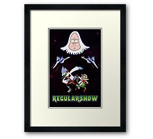 Star Fox x Regular Show Framed Print