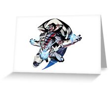 New Destroyman (No More Heroes 2) Greeting Card