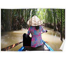 Mekong Paddle Poster