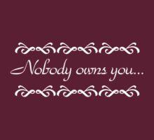 Nobody Owns You - Doccubus - Lost Girl by Amanda Vontobel Photography/Random Fandom Stuff