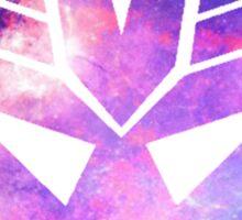 Decepticon Galaxy Insignia Sticker