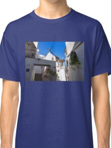 Whitewashed Mediterranean Beauty at Number 17 Classic T-Shirt