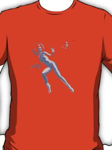 Girl with Raygun T-Shirt