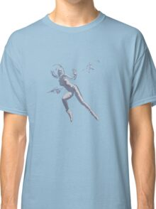 Girl with Raygun Classic T-Shirt