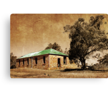 Old Shearers Quarters Canvas Print