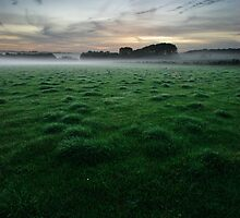 Chelsworth Common by Christopher Cullen