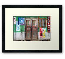 Cabinas Framed Print