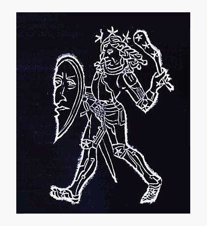 Hic Codex Auienii Continent Epigrama Astronomy Rufius Festivus Avenius 1488 Astronomy Illustrations 0131 Constellations Inverted Photographic Print