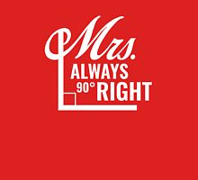 Mrs. Always Right Women's Fitted Scoop T-Shirt