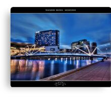 Seafarers Bridge, Melbourne III Canvas Print