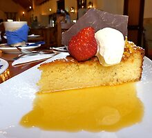gluten free orange cake and syrup by SUBI