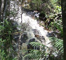waterfall by kerrie black