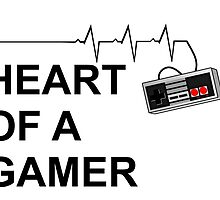 Heart of a Gamer by DrowsyDesigns