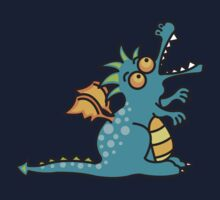 Magic Dragon :: Turquoise Kids Tee