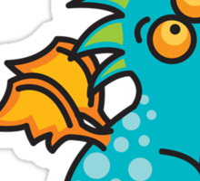 Magic Dragon :: Turquoise Sticker