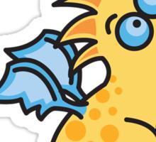 Magic Dragon :: Yellow Sticker