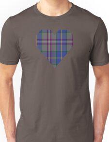 00199 Taobh Dhi Deeside Plaid District Tartan  Unisex T-Shirt