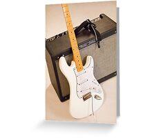 Guitar & Amp Greeting Card