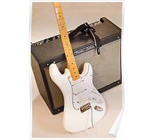 Guitar & Amp Poster