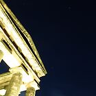 Penshaw Monument under new lighting by Tony Blakie