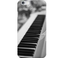 Keyboard and Drums B&W iPhone Case/Skin