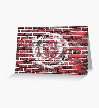 Graffiti Ohm Greeting Card