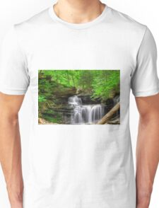 Emerald Trees Surround R. B. Ricketts Falls Unisex T-Shirt