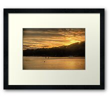 Gold - Bayview,Sydney - The HDR Experience Framed Print