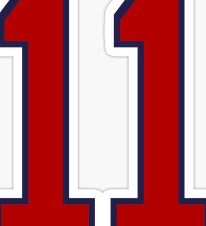 #11 Sticker