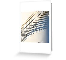 Stairs Round Up Greeting Card