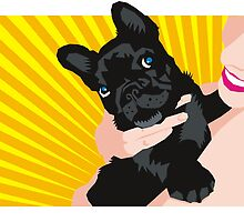 french bulldog by Matt Mawson