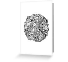 A World Of Doodles Greeting Card