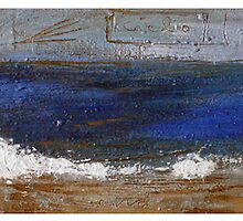 SEA triptych  by Michele Meister
