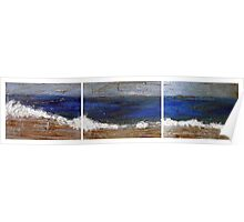 SEA triptych  Poster