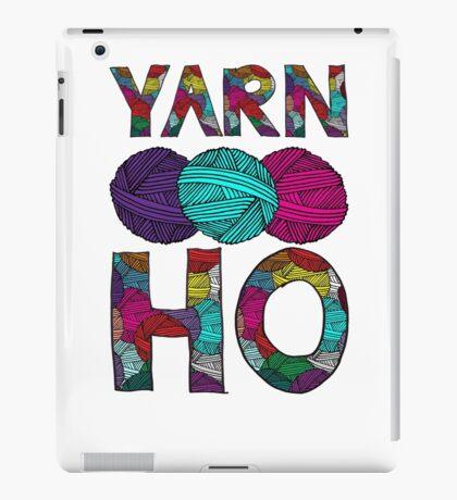 Yarn Ho iPad Case/Skin