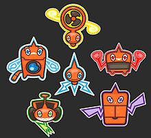 Rotom by Eat Sleep Poke Repeat