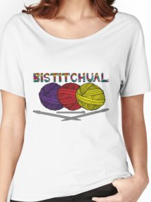 Bistitchual Women's Relaxed Fit T-Shirt