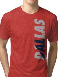 Dallas DAL Tri-blend T-Shirt