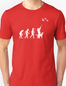 Evolution of Man and DuckHunting T-Shirt