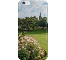 Flowers and Parliament iPhone Case/Skin