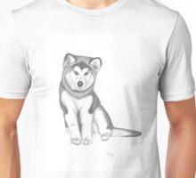 Malamute Husky Misty Unisex T-Shirt