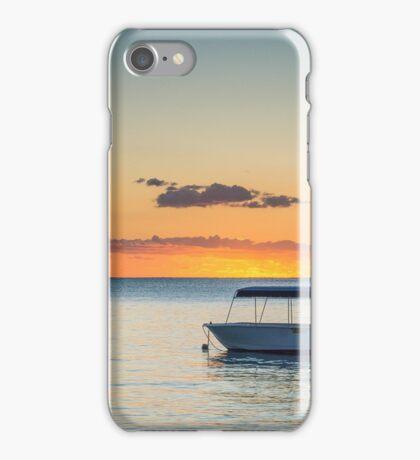 Calm waters around Mauritius iPhone Case/Skin