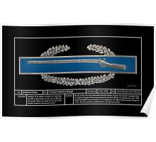 Combat Infantry Badge Technical Poster