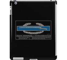 Combat Infantry Badge Technical iPad Case/Skin