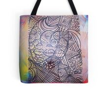 Introverted Expression  Tote Bag