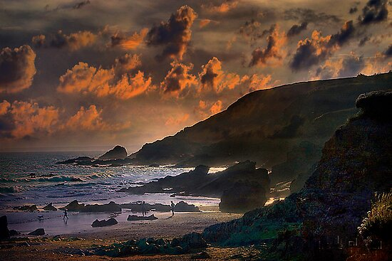 Cornwall Uk  by Irene  Burdell