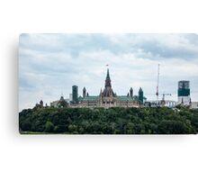 Canada's Parliament buildings - Ottawa, Canada Canvas Print