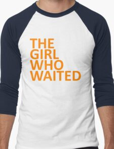 The Girl Who Waited  Men's Baseball ¾ T-Shirt