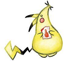 Pikachu and Ketchup Photographic Print